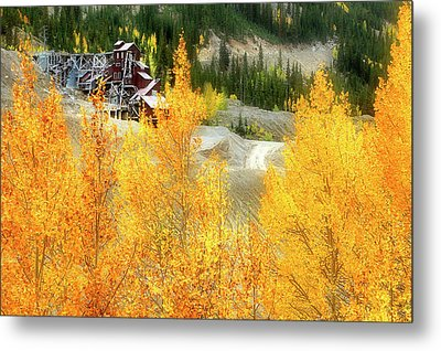 Metal Print featuring the photograph Madonna Mine - Monarch Pass - Colorado by Jason Politte