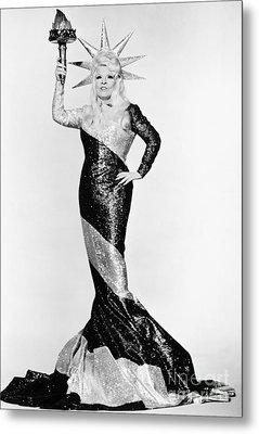 Mae West (1892-1980) Metal Print by Granger