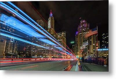Metal Print featuring the photograph Mag Mile Warp Speed by Sean Foster