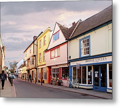 Metal Print featuring the photograph Magdalene Street Cambridge by Gill Billington