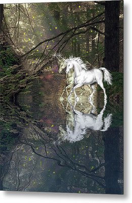 Metal Print featuring the photograph Magic by Diane Schuster