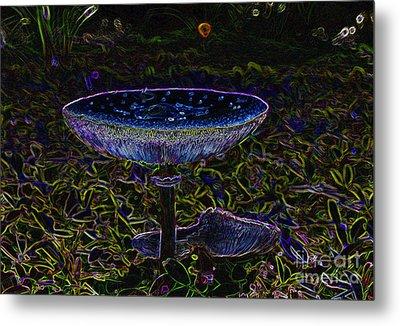 Magic Mushroom Metal Print by David Lee Thompson