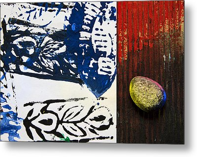 Magic Stone Metal Print