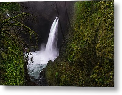 Magical Falls Metal Print by Larry Marshall