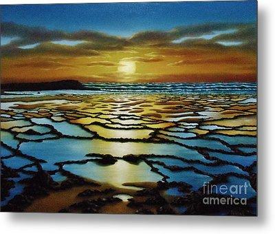 Magical Sunset Metal Print