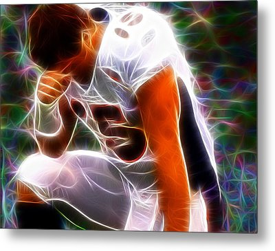 Magical Tebowing Metal Print