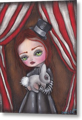 Magician Girl Metal Print by  Abril Andrade Griffith