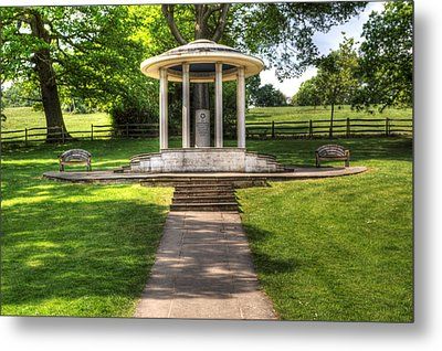 Magna Carta Memorial Metal Print