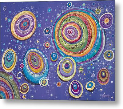 Magnetic Metal Print by Tanielle Childers