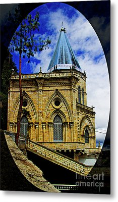 Metal Print featuring the photograph Magnificent Church Of Biblian by Al Bourassa