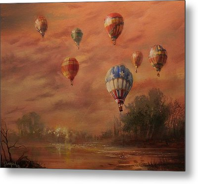 Magnificent Seven Metal Print by Tom Shropshire