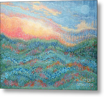 Magnificent Sunset Metal Print by Holly Carmichael