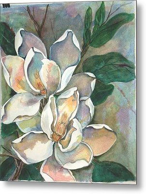Magnolia Four Metal Print