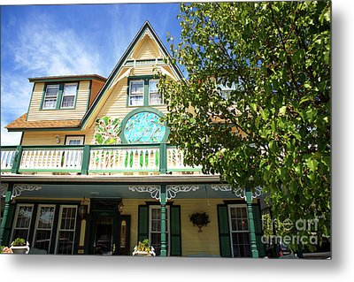 Metal Print featuring the photograph Magnolia House by John Rizzuto