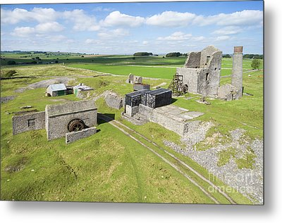 Magpie Mine 2 Metal Print by Steev Stamford