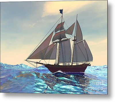 Maiden Voyage Metal Print by Corey Ford