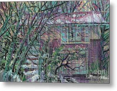 Maier House Metal Print by Donald Maier