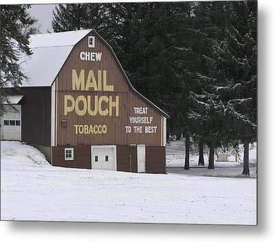 Mail Pouch Barn Metal Print