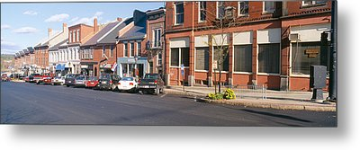 Main Street In Belfast, Maine Metal Print by Panoramic Images