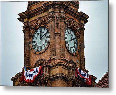 Main Street Station Metal Print