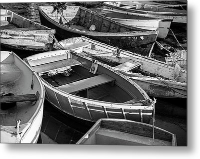 Metal Print featuring the photograph Maine Boats by Ranjay Mitra