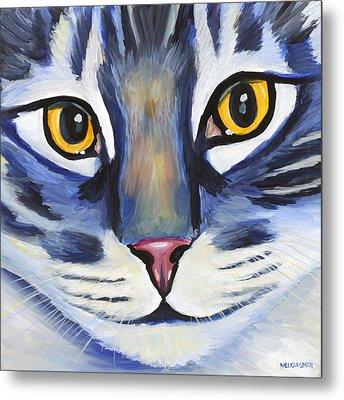 Maine Coon Metal Print by Melissa Smith