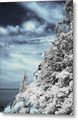 Maine Lighthouse Metal Print