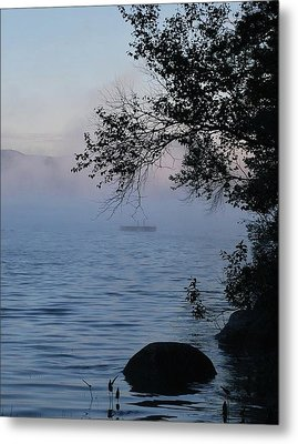 Maine Mist Metal Print