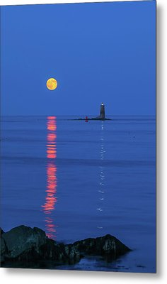 Metal Print featuring the photograph Maine The Way Life Should Be by Juergen Roth