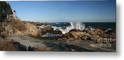 Maines' Rocky Coast Metal Print