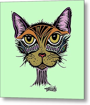 Maisy Metal Print by Tanielle Childers