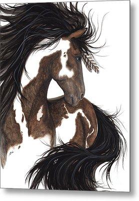 Majestic Dream Pinto Horse Metal Print
