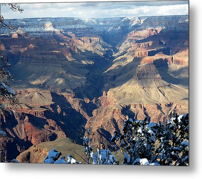 Metal Print featuring the photograph Majestic Grand Canyon by Laurel Powell