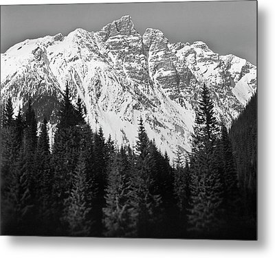 Majestic Mountains, British Columbia, Canada Metal Print by Brian Caissie