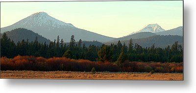 Majestic Mountains Metal Print by Terry Holliday Giltner