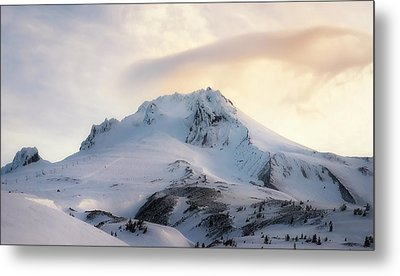 Metal Print featuring the photograph Majestic Mt. Hood by Ryan Manuel