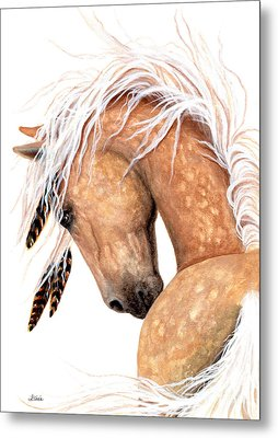 Majestic Palomino #139 Metal Print by AmyLyn Bihrle