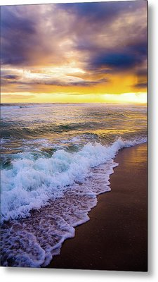 Metal Print featuring the photograph Majestic Sunset In Paradise by Shelby Young