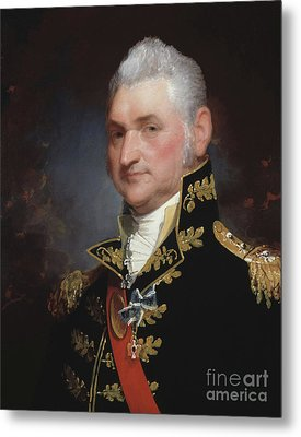 Major General Henry Dearborn Metal Print