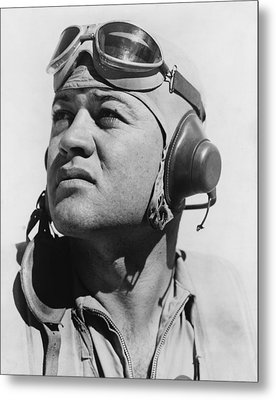 Major Gregory Pappy Boyington Metal Print by Everett