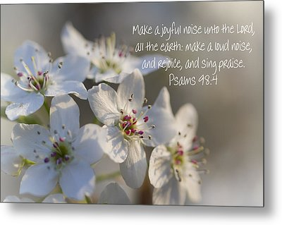 Make A Joyful Noise Unto The Lord Metal Print