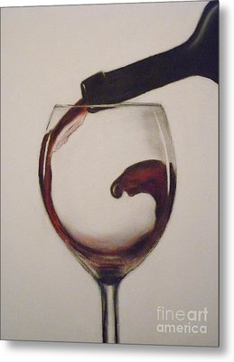 Make Mine A Red Wine Metal Print by Paul Horton