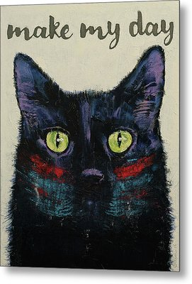 Make My Day Metal Print by Michael Creese