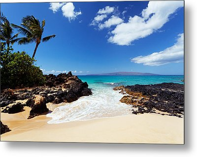 Makena Cove Metal Print