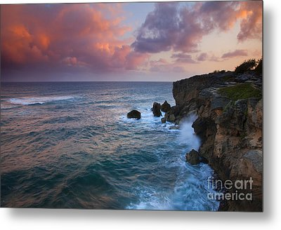 Makewehi Sunset Metal Print by Mike  Dawson