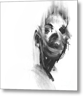 Making Marks And Coaxing Emotions 3 Metal Print
