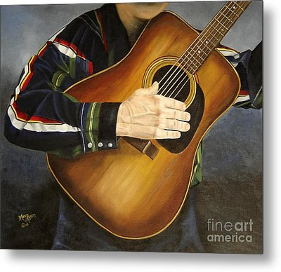 Making Music Metal Print by Mary Rogers