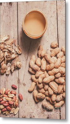 Making Peanut Butter Metal Print by Jorgo Photography - Wall Art Gallery
