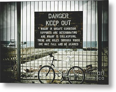 Metal Print featuring the photograph Mala Wharf Lahaina Maui Hawaii by Sharon Mau
