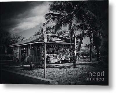 Metal Print featuring the photograph Mala Wharf Showers Lahaina Maui Hawaii by Sharon Mau